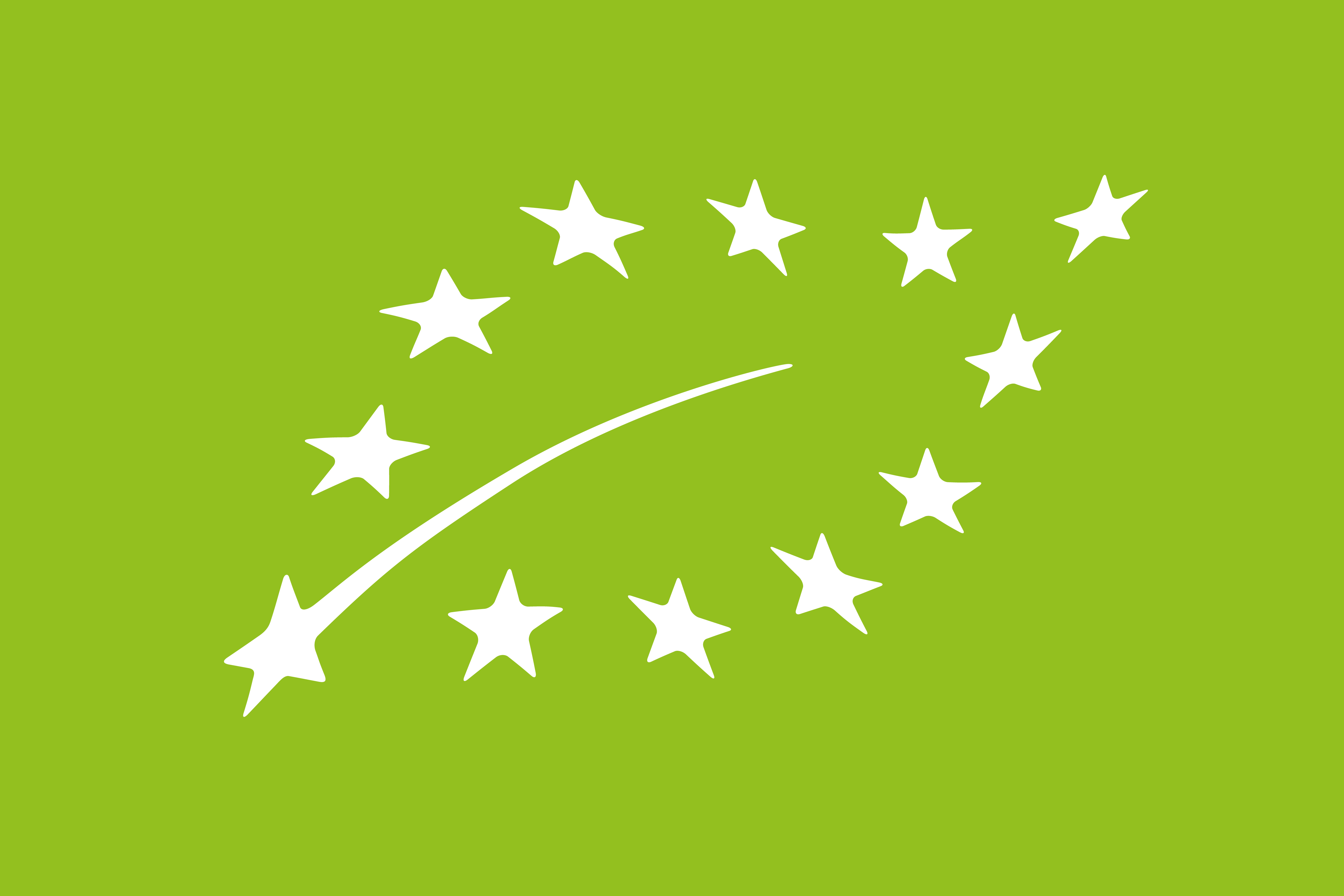 EU Organic Leaf Food Label